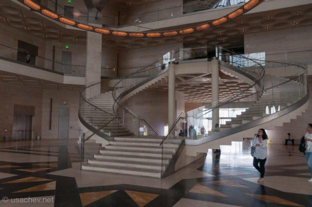 Внутри Музея исламского искусства