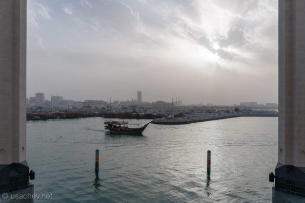 Вид с террасы Музея исламского искусства