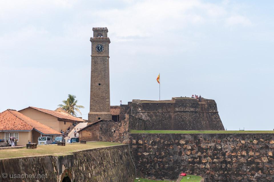 Часовая башня Форта Галле (Galle Fort)