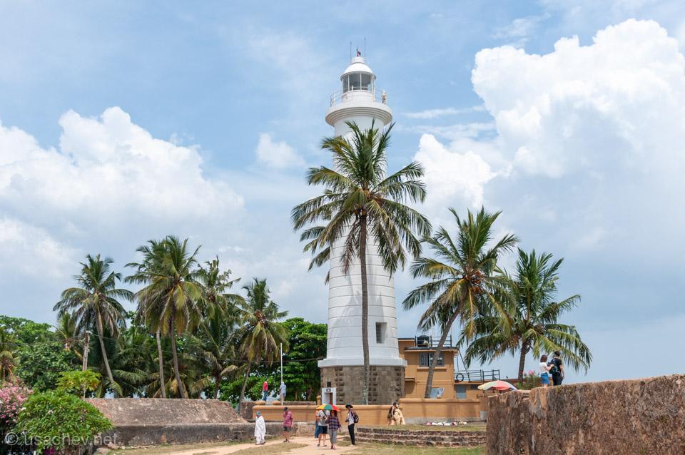 Маяк Форта Галле (Galle Lighthouse)