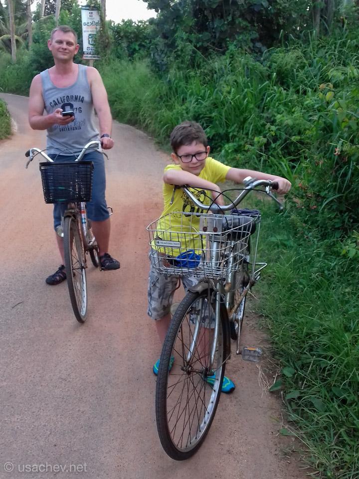 Велопрогулка по окрестностям Велигамы