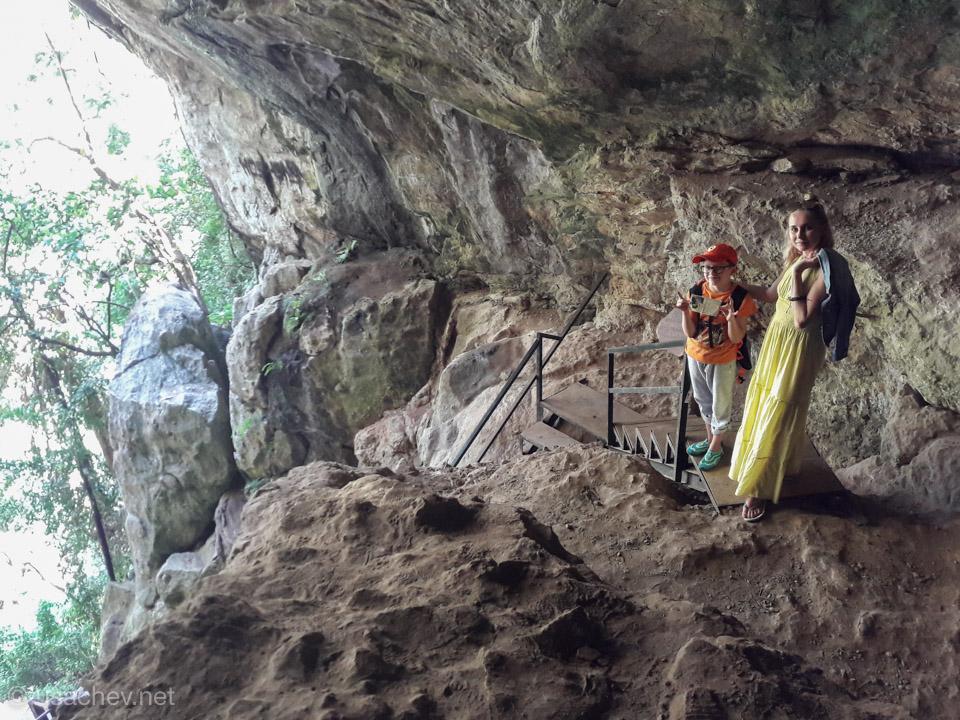 В пещере Равана