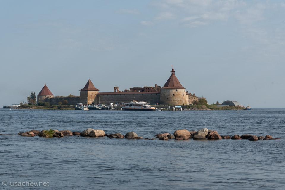 Ореховый остров (Пянкинясаари) и крепость Орешек