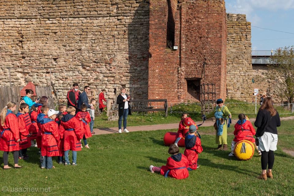 Детские квесты в крепости Орешек