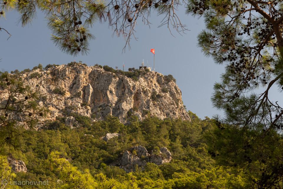 Гора Чалыш или «Гора с флагом»