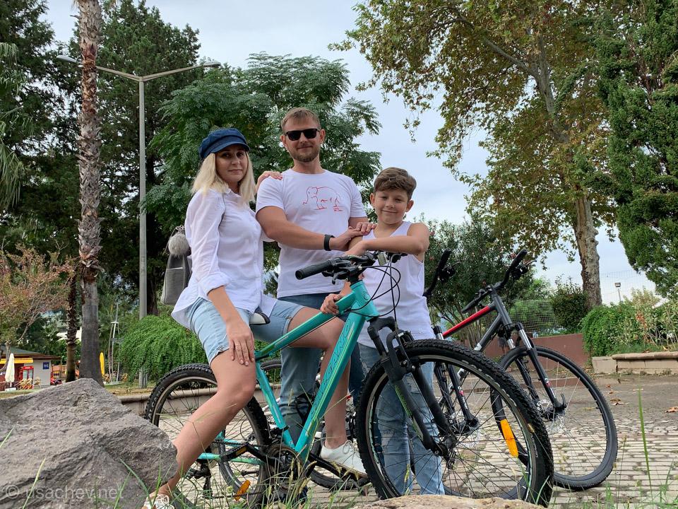 Велопрогулка по Кемеру