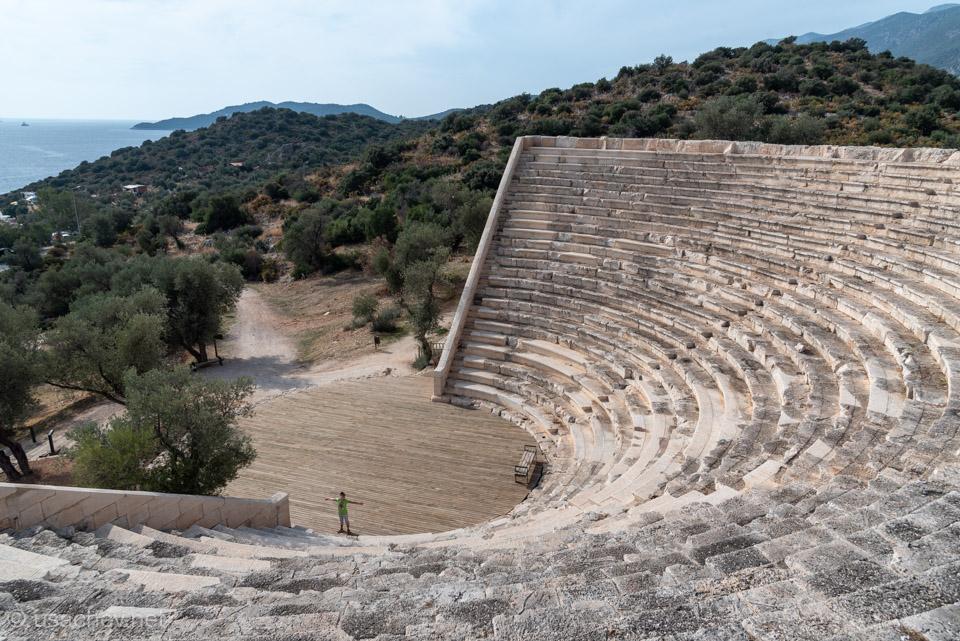 Античный театр Антифеллоса