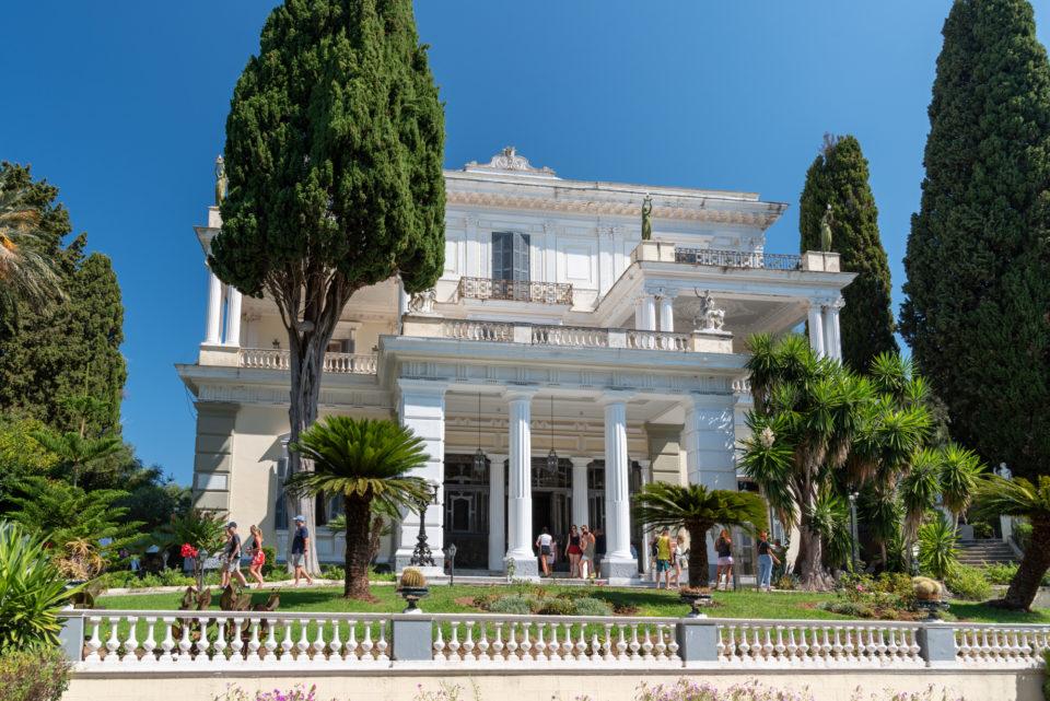 Дворец Ахиллеон (дворец Сиси)