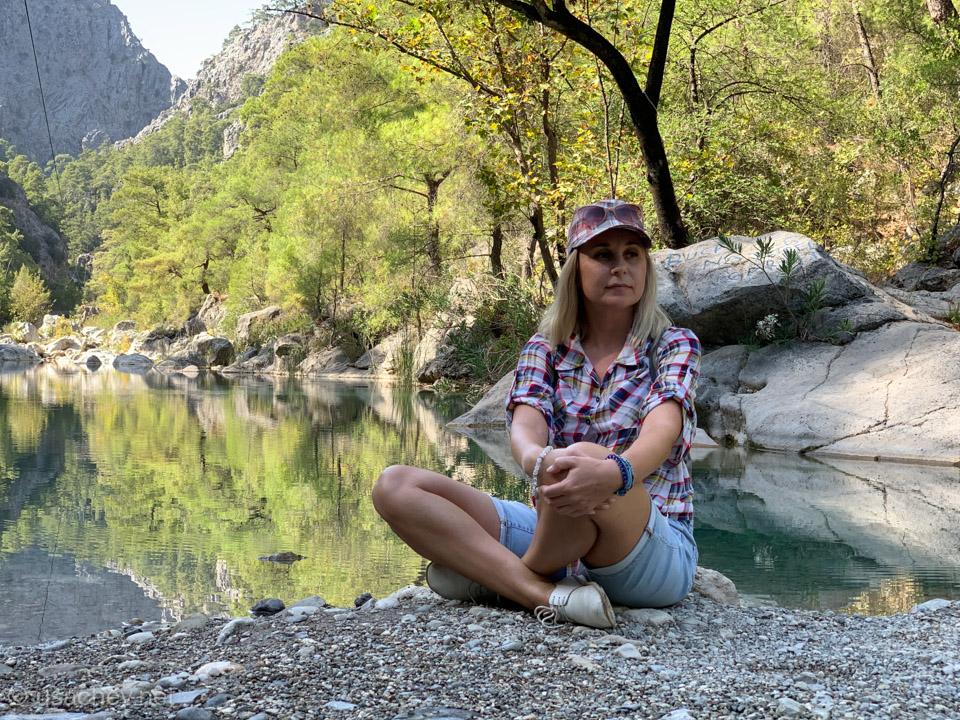 В каньоне Гёйнюк