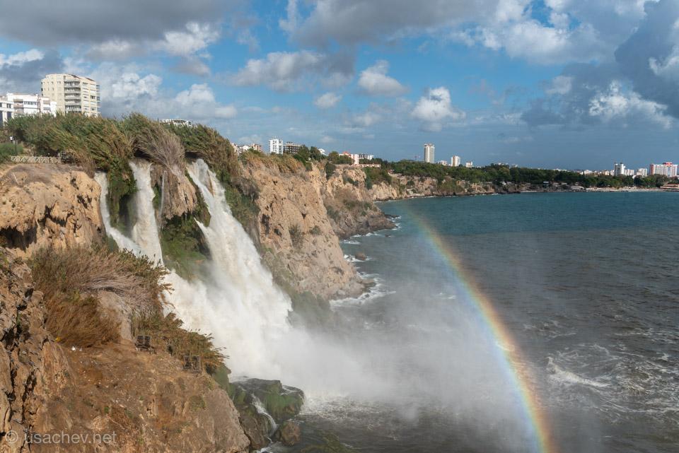 Нижний Дюденский водопад или Карпузкалдыран